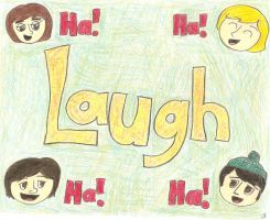 Laugh by girlwitharubbersoul