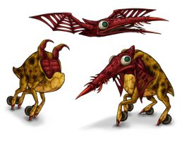 Animorphs Races: Mortrons by Monster-Man-08