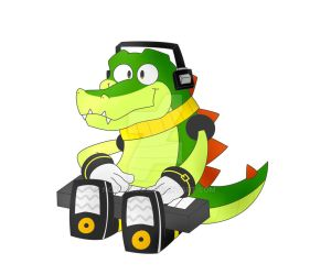 Vector (Sticker avaliable) by NokuCroc