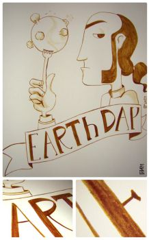 Coffee Earth Day by EvanLins