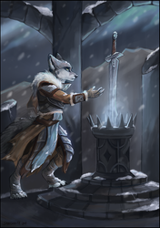 ~Snow ruins~ by SnowSnow11