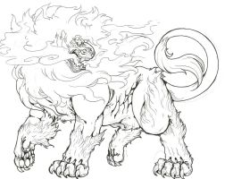 Pyroar-male-colorless