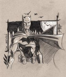 Bats Sketch by TehBeardedOne