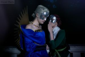 Dragon Age: Briala and Celene by Yuija