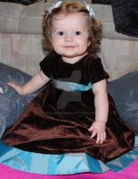 Olivia 8 months by oddjester