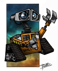 Wall-E by qwailotim