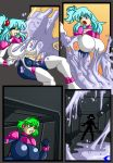 Keitie vs tecno slime girl 2 by Animewave-Neo