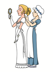 Suggestion - The young lady and her loyal maid by Yet-One-More-Idiot