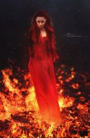 The Red Priestess by Adipose620