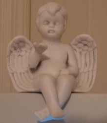 Angel Figurine 001 by immortalis-stock