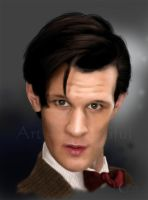 A Painting of Dr Who by jht888