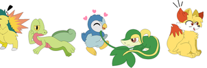Starters I Choose by Kitty-Loves-All