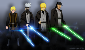 Konoha's Jedi Knight by UnreaLPiXel