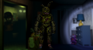Final Version: Nightmare Springtrap by Zacmariozero