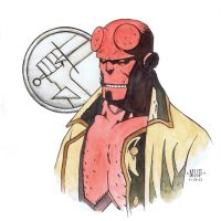 SQUARE Hellboy No. 2 by PENICKart