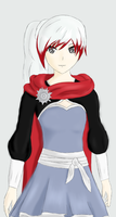 RWBY Fusion - Ruby + Weiss by TheLadyXana