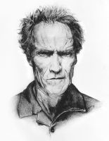 clint eastwood by agnes-cecile