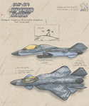 MF-01 Speed Dart Midget Fighter Concept by SammfeatBlueheart