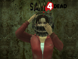Saw 4 Dead Zoey by WeaponTheory