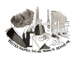 And Here's to You, Mister Holmes by strawberry-tree