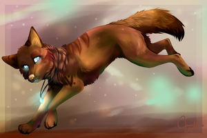 Anaii B-day Gift :: SpeedPaint by LittleRavine