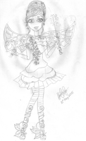 Ever After High OC Daughter of Tinkerbell by Haneeys1nsyeerah
