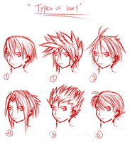 Types of Hair by keishajl