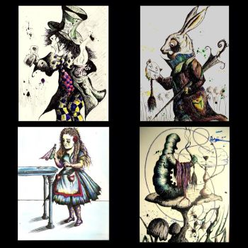 Alice in Wonderland by LordColinOneal