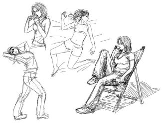 Training sketch by Tohad