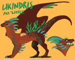 LIKINDRIS REFERENCE [D+D] by OokamiMonster