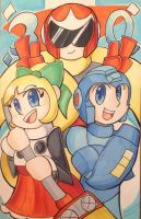 Happy 30th Anniversary W-M-Megaman by Procrastin8ingArtist