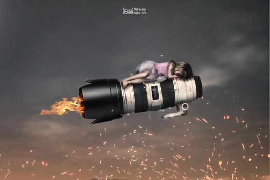 Flying in the Dream with 70-200mm f 2.8 L USM II by IsalRahman