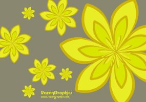 lime color wallpaper by razangraphics