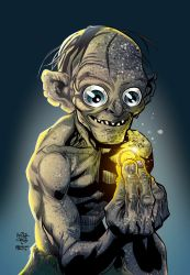 Gollum Smeagol Colors. by CrisstianoCruz