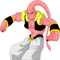 Super Gotenks Buu by Yholl