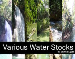Various Water Stock by laceratedwrists