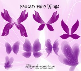 Fantasy Fairy Wings set 3 by Lileya