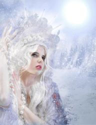 white queen by flankerus