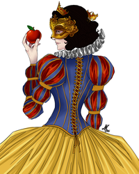 Snow White: Masquerade by Sombrewood