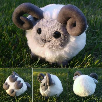 New design - Edgar the sheep by demiveemon