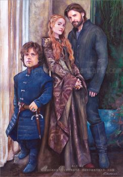 House Lannister - Game of Thrones by RoryonaRainbow
