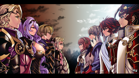 Fire Emblem Fates - Nohr VS Hoshido Civil War by jadenkaiba