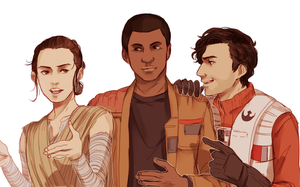 Tfa trio by sakanades