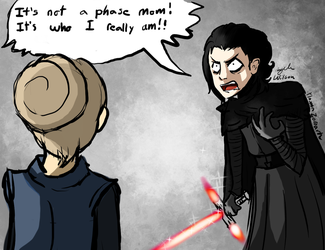 It's not a phase Leia by Plasmatiel