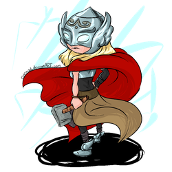 Thor Jane Foster by Ch4rm3d