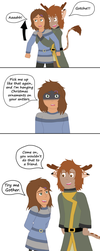 Forest Spirits Fancomic- Antlers by Serverdown2671