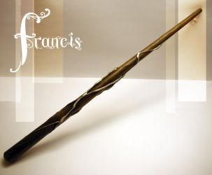 Pond Couture Wands: Francis by storytellersdaughter