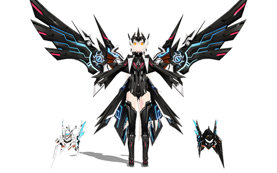 [MMD-Elsword] Code:Ultimate WIP2 by Darknessmagician