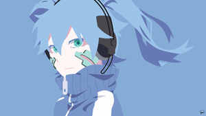Ene {Mekaku City Actors} Vector by greenmapple17