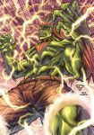 High voltage 'blanka color' by pant